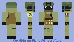 Italian GOI Minecraft Skin