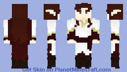 [LOTC] Red Elf Minecraft Skin