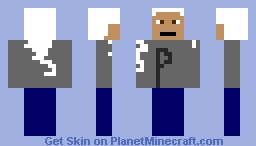 my grandpa Minecraft Skin