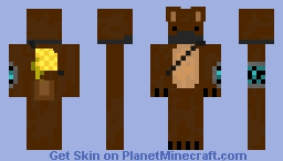 The Honey Heist (Beary Nice Contest entry) Minecraft Skin