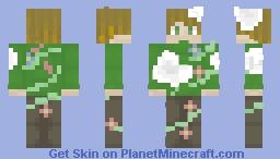snowy garden (entry for wordplay skin contest) Minecraft Skin