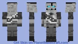 Robo Heavy TF2 MVM Minecraft Skin