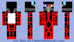 Space Fighter Pilot(with visor up) Minecraft Skin