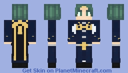 Seteth - Fire Emblem Three Houses Minecraft Skin