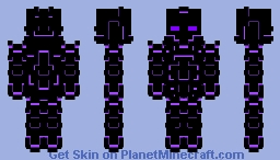 Necrotic enegry Minecraft Skin