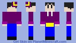 Ness 2480 v2.0 Minecraft Skin