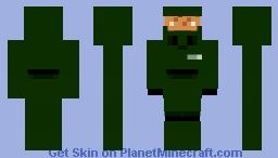 S-117 master chief Minecraft Skin