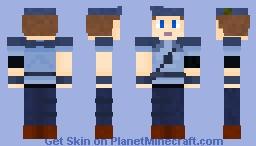 Jill Valentine from saga Resident Evil Minecraft Skin