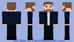 Steve Rogers Jacket | Captain America : The Winter Soldier Minecraft Skin
