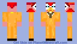 Mr Cheeky Minecraft Skin