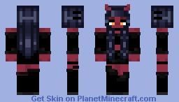 Demon Chick Minecraft Skin