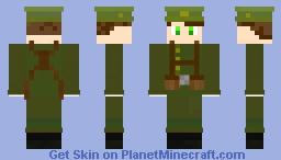 WW1 British Soldier 1914 Minecraft Skin