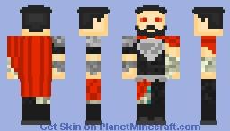 Zod (Injustice) Minecraft Skin