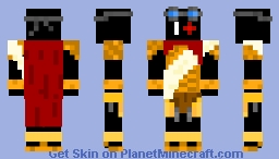 Difas, God of Wind And Air Minecraft Skin
