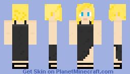 Aya Brea Parasite Eve Minecraft Skin