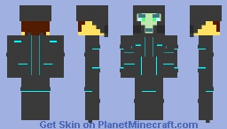 Guy from the future Minecraft Skin