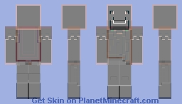 Notch Trippy Inversion Hell Minecraft Skin