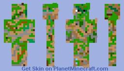 Disruptive Pattern Camouflage v1 [FIXED] Minecraft Skin