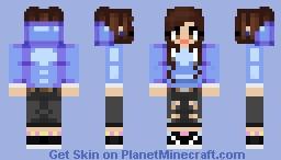 Cosmic Skye Minecraft Skin