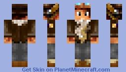 skin de oxilac l' amie a furious jumper Minecraft Skin