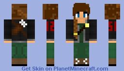 Katniss Everdeen from the Hunger Games Minecraft Skin