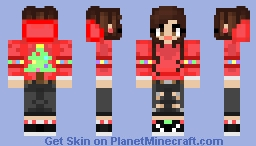 CosmicSkye Christmas Sweater Minecraft Skin