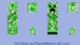 creeper skin Minecraft Skin