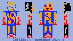 CybearTron Minecraft Skin