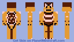 Boom Boom (Super Mario Bros. 3 NES) Minecraft Skin