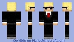 el banquero Minecraft Skin