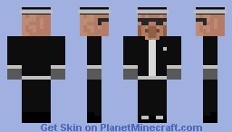 Coffin dance villager Minecraft Skin