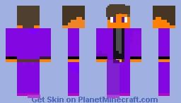 Fnaf Kids Purple Guy Minecraft Skin