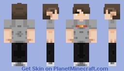 hair is a pain Minecraft Skin