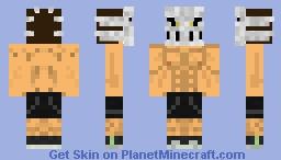 Rick Taylor Splatterhouse 2010 Minecraft Skin