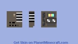 a   t a p e   j u s t   f o r   y o u Minecraft Skin
