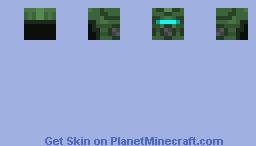 Turtle Armor Helmet Minecraft Skin