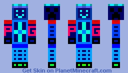 I was bored so I made this Minecraft Skin