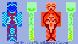 multi face Minecraft Skin