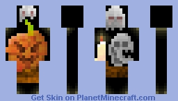 Happy hallowing Minecraft Skin