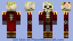 Skully the pirate Minecraft Skin