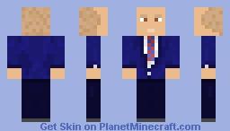 Former 2020 Democratic Candidate John Delaney Minecraft Skin
