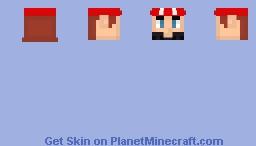 Mario Head Minecraft Skin