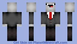 Slenderman Derp (updated) Minecraft Skin