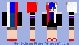COMMISION 1 (NEKO RUSSIA) Minecraft Skin