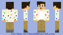 Polka-Dot Cardigan (Golf Wang) Minecraft Skin