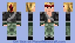 Karate Kid Minecraft Skin