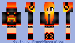 My edit for another player's skin Minecraft Skin