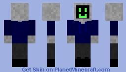 Computer Head w/ Clothes Minecraft Skin