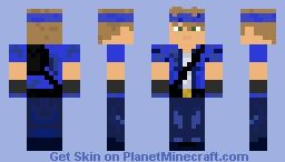 waterbender Minecraft Skin