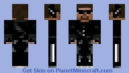 Steve The Spy Minecraft Skin